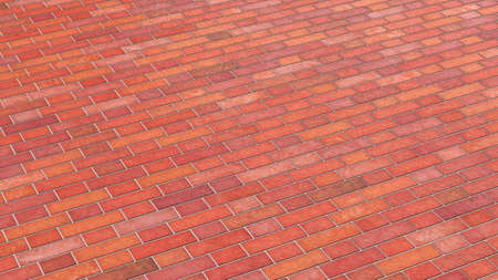 clinker tile: Red colored wall structure Stock Photo
