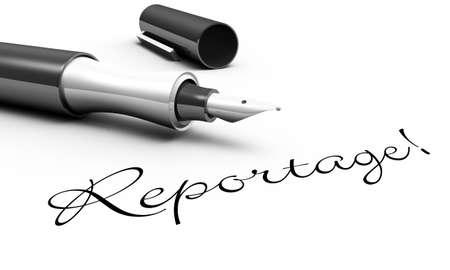 reportage: Reportage - pin concept