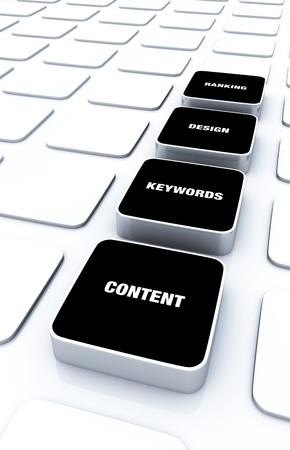 customercare: 3D Pads Black - Design Content Keywords Ranking 9 Stock Photo