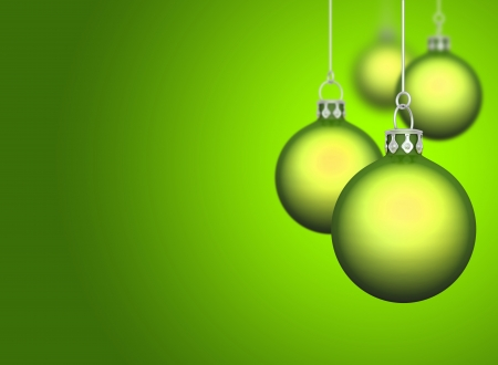 curren: Christmas Balls Background
