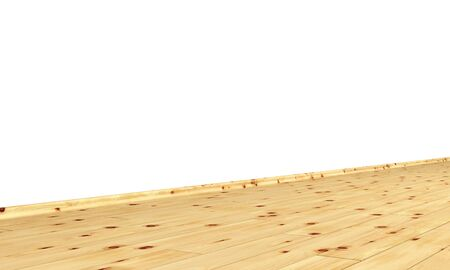 Wall with diagonal wood floor - pine Stock Photo - 15888240