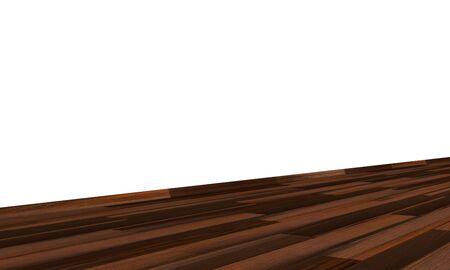 Wall with wooden floor diagonally - bog oak Imagens