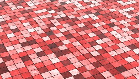 tile flooring: Background red colored floor tiles