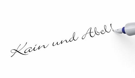 Pen Concept - Cain and Abel photo