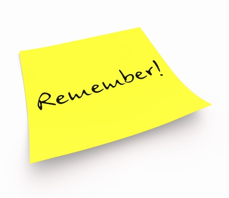 Stickies - Remember photo