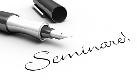 Seminars - pin concept photo