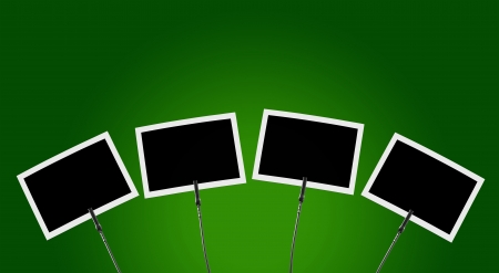 backplate: Photo Clip 4x green background