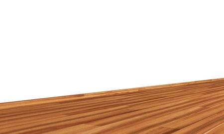 diagonally: Wall with wooden floor diagonally - elm