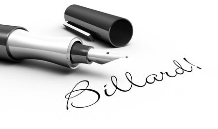 Billiards - pin concept Stock Photo - 16135568