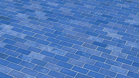 clinker: Blue bricks - diagonally