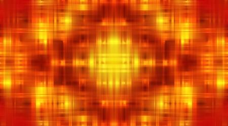 Fire Dot Matrix Background 08 Stock Photo - 16452178