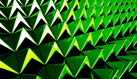 Background - Pyramids matrix Green 9 Stock Photo - 16452185