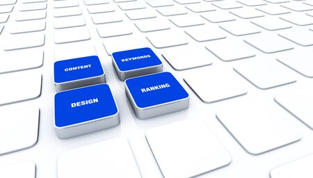 customercare: 3D Pads Blue - Design Content Keywords Ranking 9