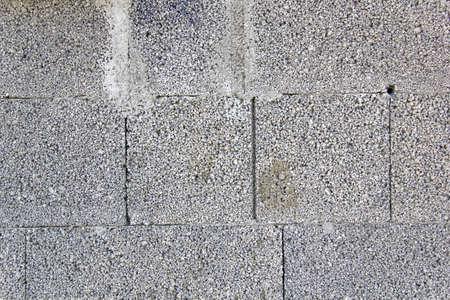 clinker tile: Gray brick background Stock Photo