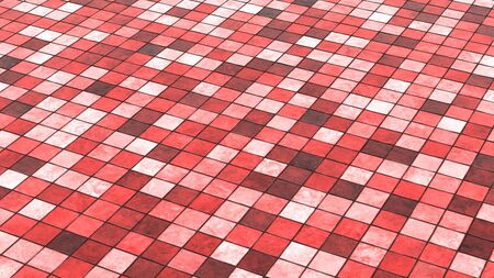 Background red colored floor tiles 02 photo