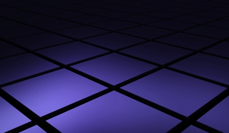 cuboid: Cuboid matrix diagonal purple black 03