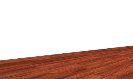 diagonally: Wall with wooden floor diagonally - Sycamore EUROPEAN isch