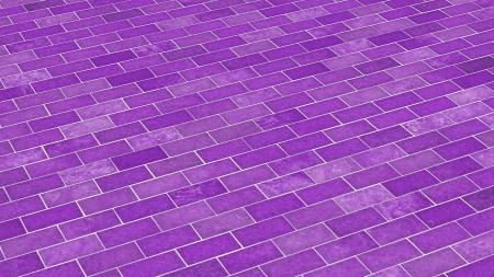 clinker tile: Brick-violet diagonal pattern