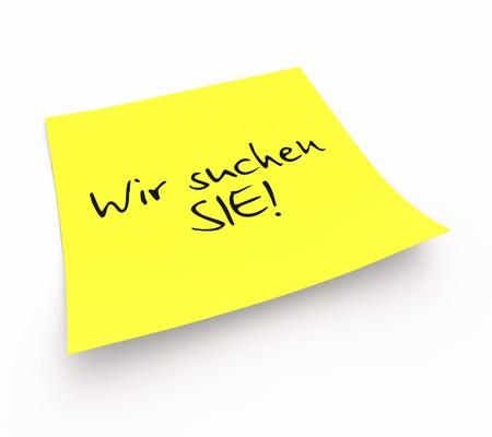 Stickies - Wir suchen DICH