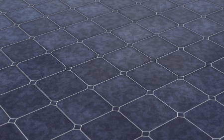 Stone tiles background - Dark Blue photo