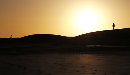 Dune walkers Stock Photo - 18371645