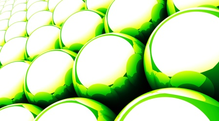 Magic Matrix Balls Background - Green 13 photo