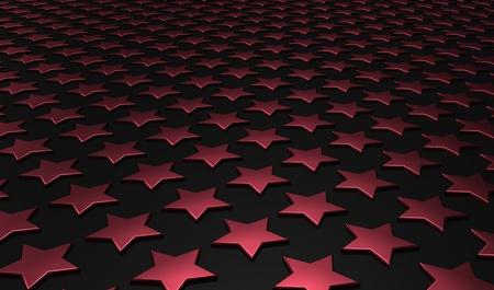 backplate: Stars matrix background - red black 7