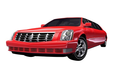 optional: Stretch Limousine Red - optional