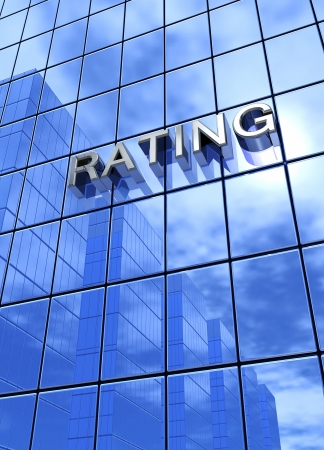 creditworthiness: Big Blue rating Concept