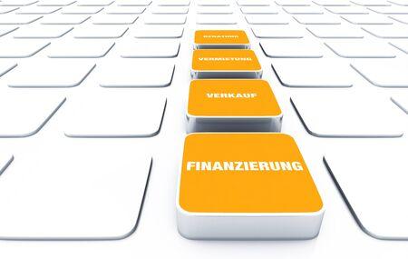 financial advice: 3D pads Orange - Rental Sales financial advice