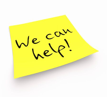 can we help: Stickies - We can help
