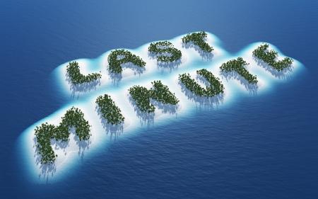 Last minute - Island Concept Reklamní fotografie - 18628329