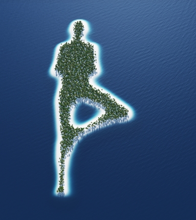 Yoga Island Concept