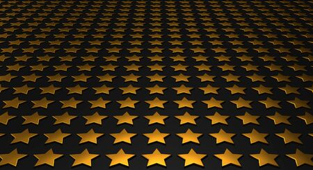 Stars matrix background - gold black  Stock Photo - 18732708