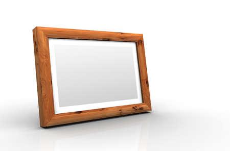 yew: 3D wooden frame - European yew
