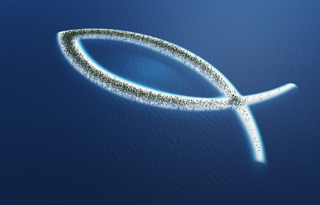ichthys: Ichthys fish symbol - Island Concept 2
