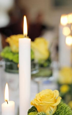 luz de velas: Candlelight Wedding Bokeh 2