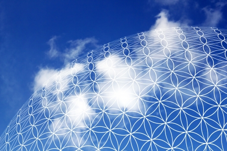 Flower of Life in the sky 02
