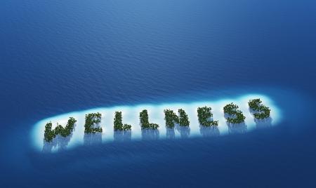 ibiza: Wellness - Island concept Stock Photo