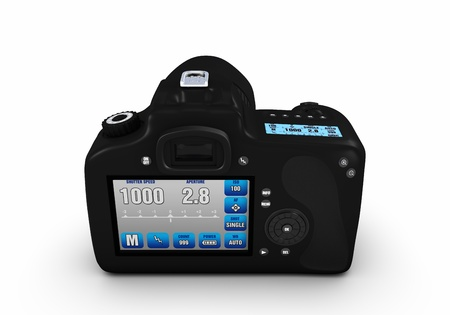 Digital SLR 360° views  photo