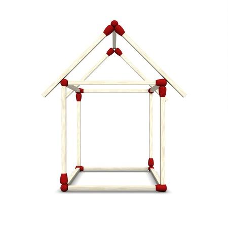 statics: 3D match House