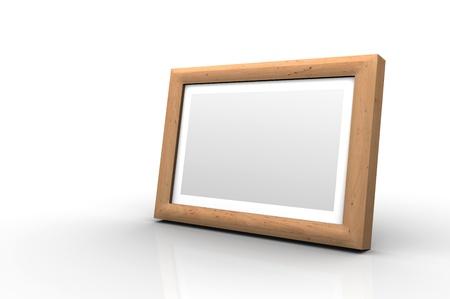 alder: Wooden picture frame - Alder