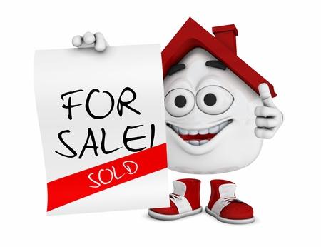 sold small: Piccola 3d Red House - Vendita Venduto