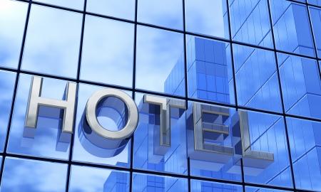 Blue building - hotel 1