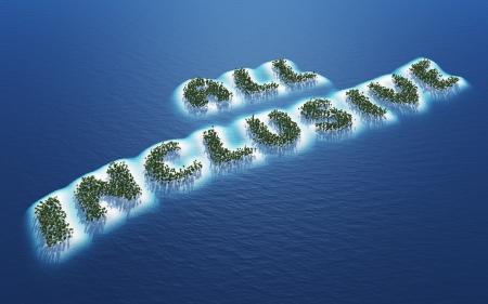 All Inclusive - Island Concept 1 Stock Photo - 20333396