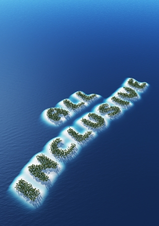 All Inclusive - Island Concept 2 Stock Photo - 20333520