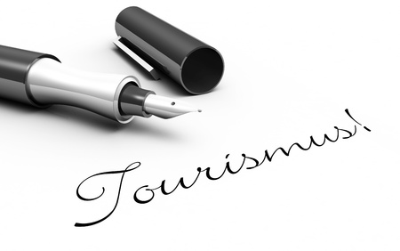 worth: Tourism - pin concept Stock Photo