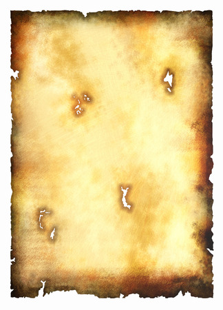 backplate: Blank treasure map - old paper