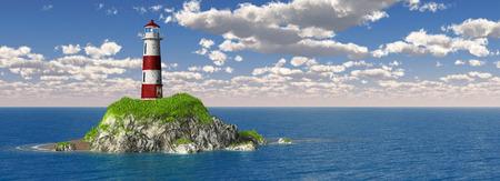 Lighthouse Panorama photo