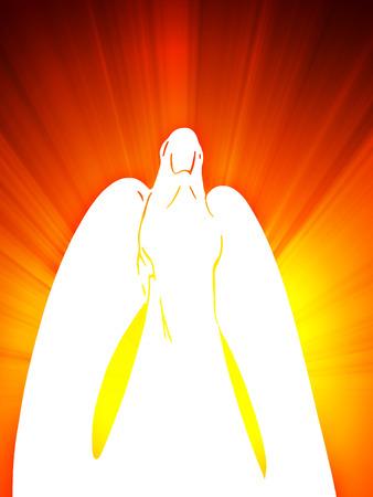 angelo custode: Il guardian angel wei�e